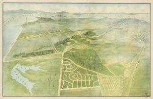 Bird's Eye View of Ingleside Terraces - 1915