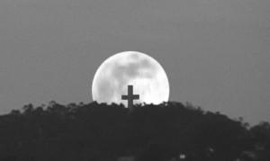 Mt. Davidson moonrise