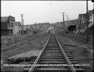 Monterey Boulevard and Detroit Street Looking West | July 16, 1917